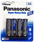 PANASONIC AA 4 BATTERIES 12 COUNT