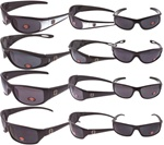 MOTORCYCLE SUNGLASSES 12 COUNT