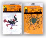 HALLOWEEN TABLE COVERS 6 COUNT