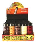 EXOTIC WESERN LEATHER FEEL ELECTRONIC LIGHTERS 50 COUNT