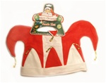 JESTER CHRISTMAS HATS 12 COUNT