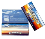 ''ELEMENTS CIGARETTE ROLLING PAPERS PERFECT FOLD 1 1/4'''' 25 COUNT''